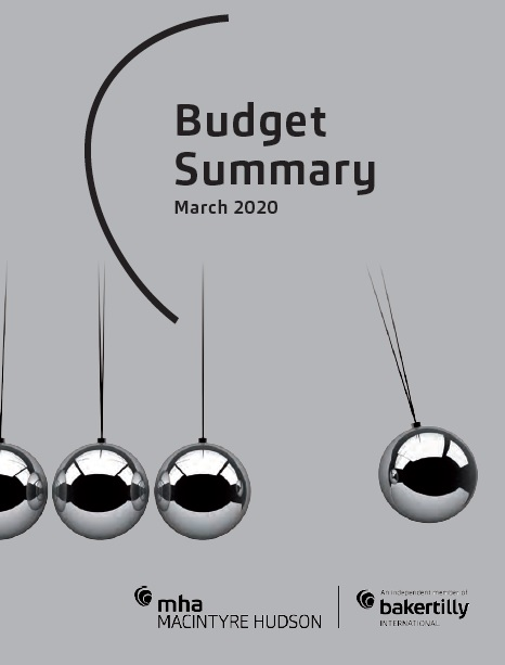 Budget 2020 Summary Report