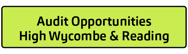 Audit Opportunities - High Wycombe and Reading