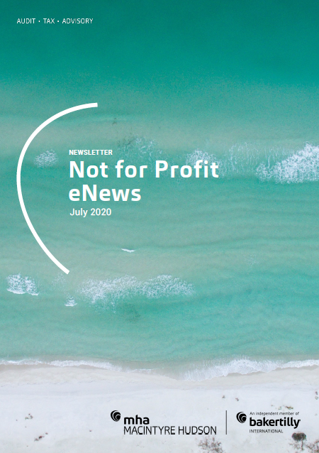 Not for Profit eNews July 2020